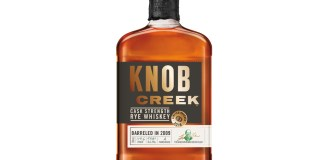 Knob Creek Cask Strength Rye Whiskey Bottle