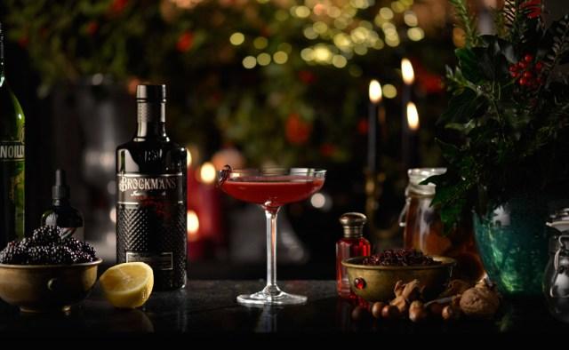 brockmans burlesque cocktail