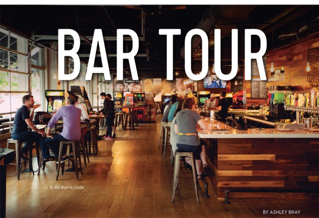 Bar Tour - Gaming 16-bit Rise Brands