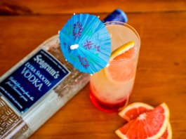 Seagram's Summer Sunset Cocktail Recipe
