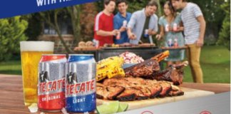 Tecate BBQ summer promo