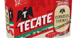 Tecate Retro Can