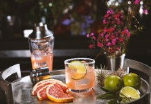 DeLeón Tequila Blood Orange Paloma Cocktail Recipe