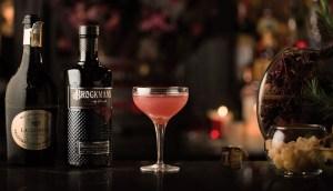 Brockmans Gin Satin Maroon Cocktail Recipe