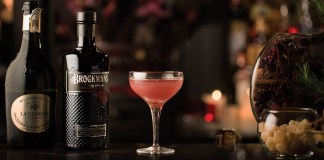 Brockmans Gin Satin Maroon Cocktail Recipe