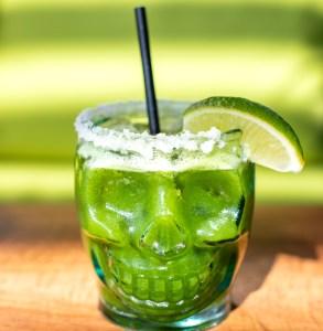 Bakan mezcal cocktail