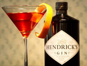 Hendrick's Gin Unusual Negroni Cocktail Recipe