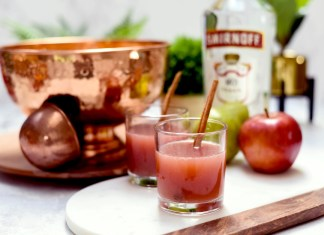 Smirnoff Fall Punch cocktail recipe