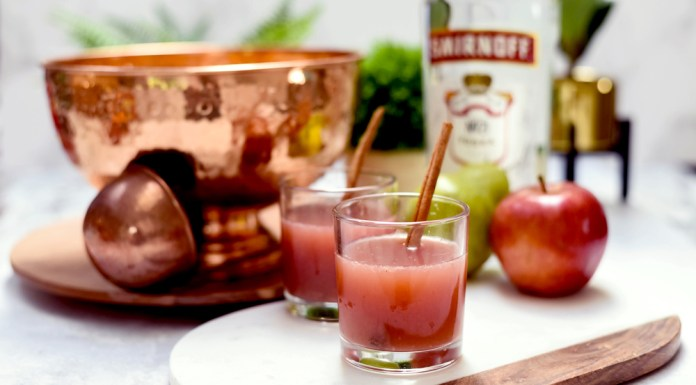 Smirnoff Fall Punch cocktail recipe