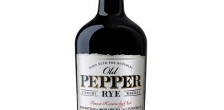 """Old Pepper """"Finest Kentucky Oak"""" Rye Whiskey"""