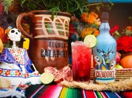 Tequila Cazadores Pomegranate Paloma cocktail recipe