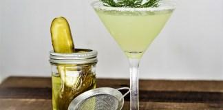 dill pickle martini cocktail recipe