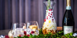 Christmas Zzangria cocktail recipe