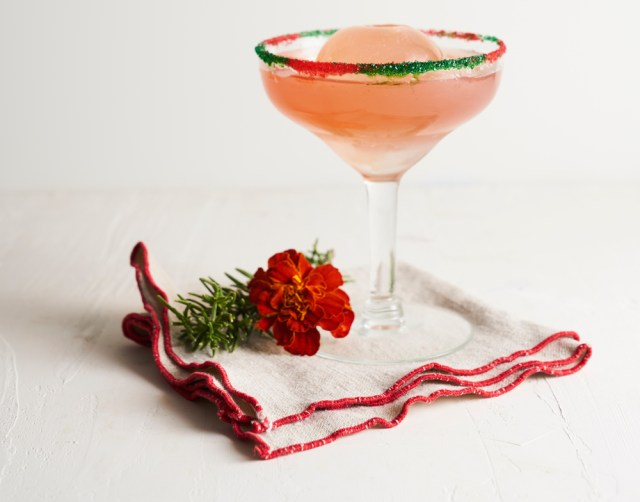 Taffer's Mixologist mistletoe margarita cocktail recipe