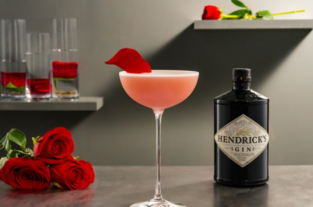 Hendrick's Gin Riviera Rose cocktail recipe