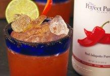 The Perfect Purée La Rojita cocktail recipe