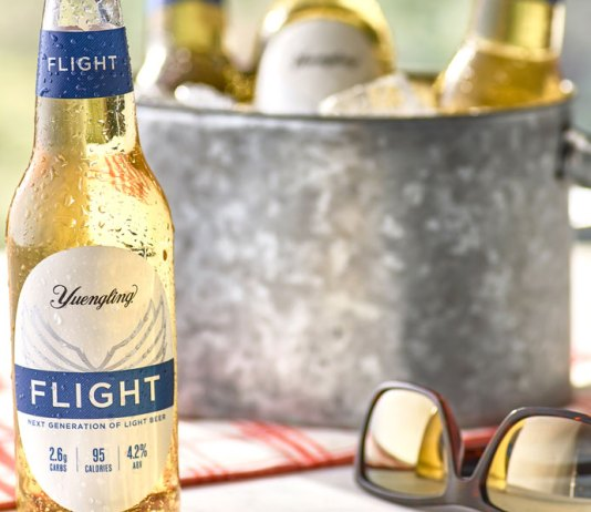 FLIGHT by Yuengling light beer