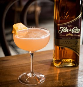 Flor de Caña Pineapple Daiquiri al Marrasquino cocktail recipe