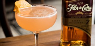 Flor de Caña Pineapple Daiquiri al Marrasquino cocktail recipe
