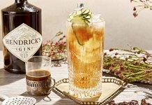 supersonic gin and tonic Hendrick's Gin cocktail recipe