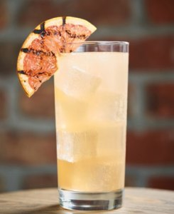 Grilled Grapefruit Paloma memorial day cocktail recipes