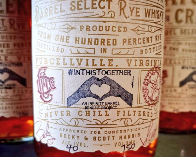 Catoctin Creek Distilling Company Infinity Barrel #InThisTogether Rye Whisky