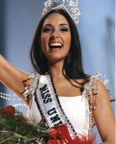 Miss Universe 2003 Amelia Vega (image courtesy of Miss Universe Organization