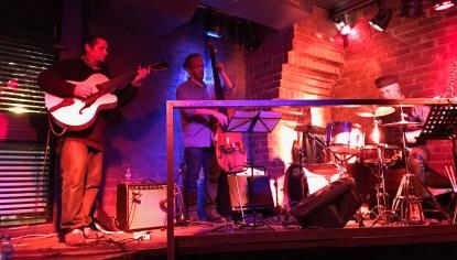 Pedro Barboza Cuarteto den el Moe Club, Madrid