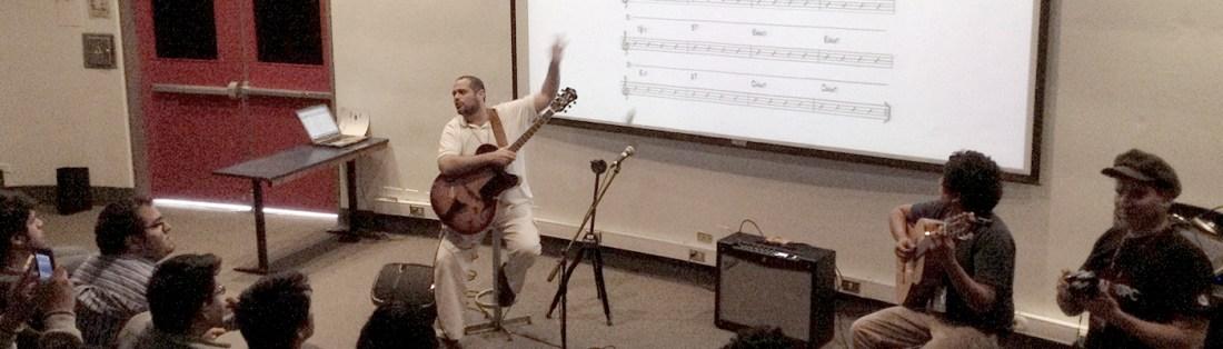 Master Class El Matrix de La Guitarra, Profesor Pedro Barboza