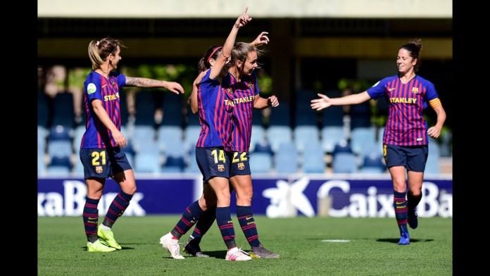 FC Barcelona Femeni Champions League