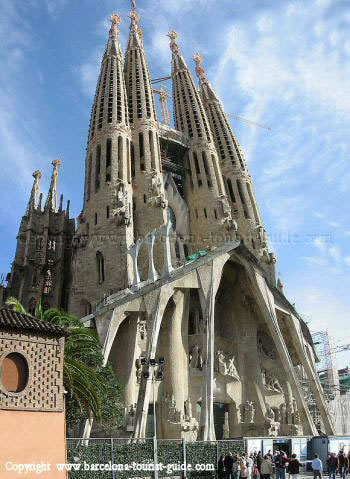 Select from 2576 premium barcelona cathedral of the highest. Photos of the Towers of La Sagrada Familia