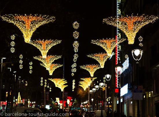Christmas Light Displays In Barcelona