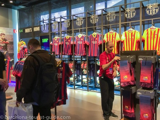 Official Barcelona Fc Stores Guide Barca Merchandising Shops