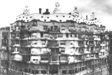 Casa Milà early 20th century