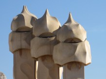 Casa Milà chimneys