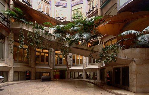 Casa Milà interior staircase