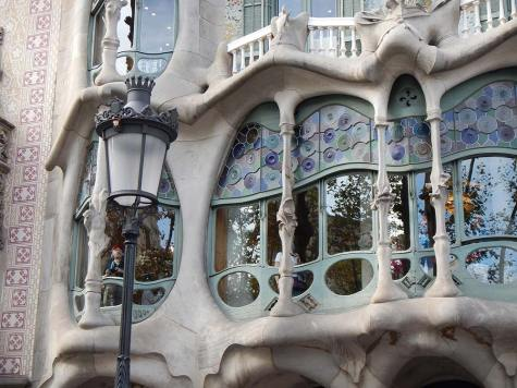 Casa Batllo main floor window