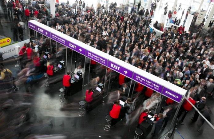 Image result for mwc crowd