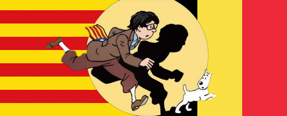 Image result for puigdemont caricature