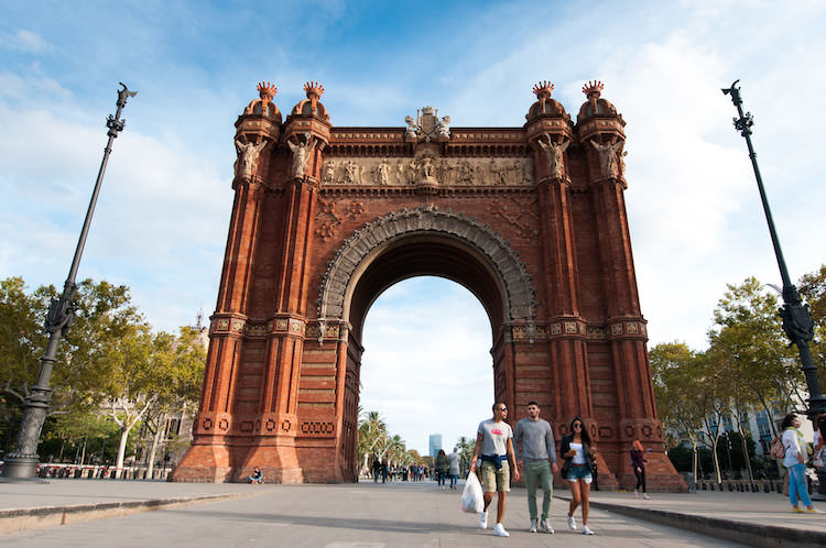 Foto's maken in Barcelona