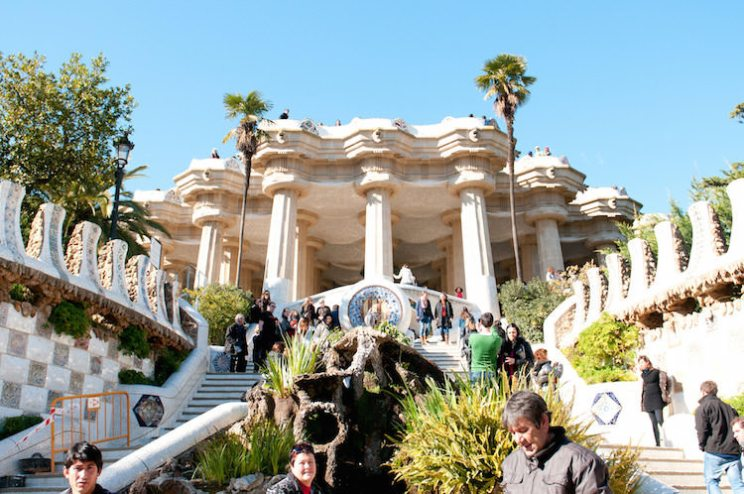 Park Güell modernisme Barcelona