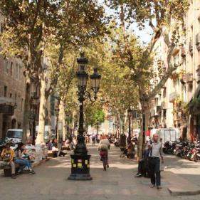 Passeig del Born Barcelona