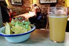Nacho's en bier Ale&Hop