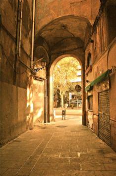 Straat Arc del Teatre - Kerkhof der Vergeten Boeken Barcelona