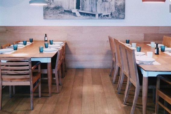 Inrichting restaurant Baracca