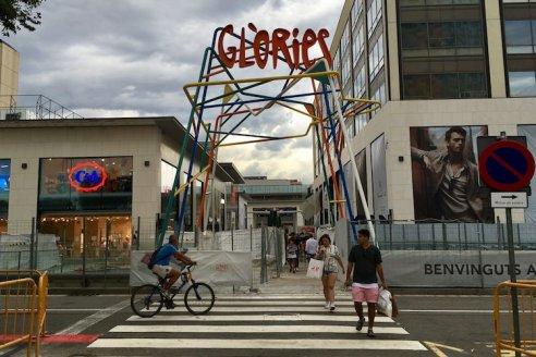 barcelona glories winkelcentrum