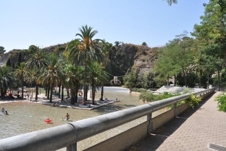 zwembad parc crueta coll