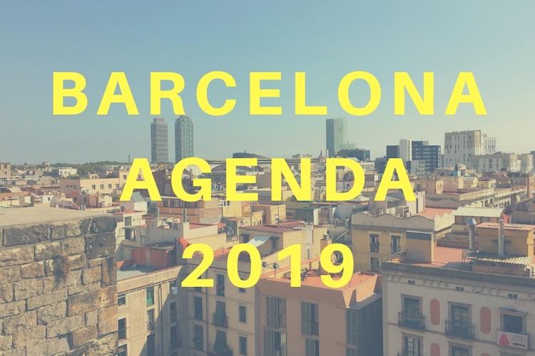 barcelona agenda 2019
