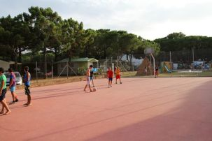 Camping neptuno Barcelona sportveld
