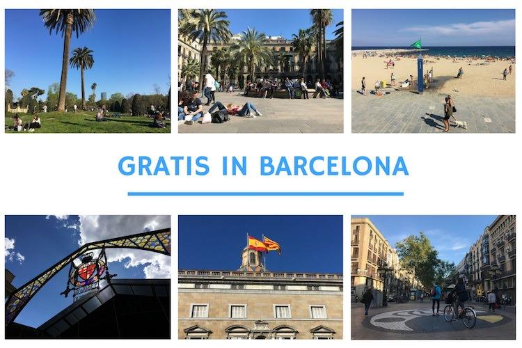 gratis doen barcelona